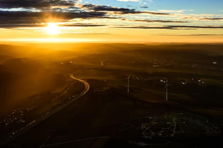 Aerial Sunset-5